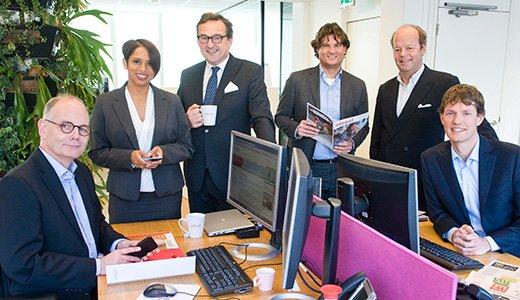 Het beleggingsteam van de ASN